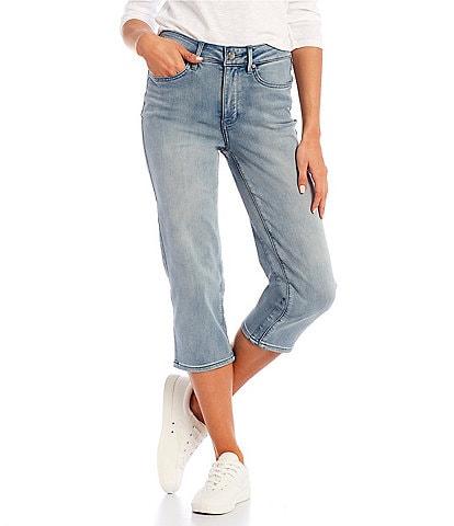 NYDJ ThighShaper(TM) Straight Crop Jeans
