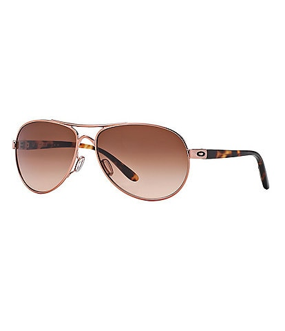 Oakley Feedback Gradient Aviator Sunglasses