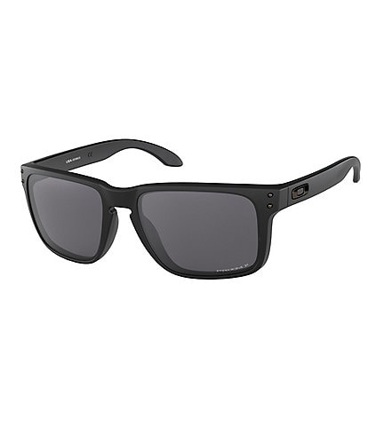 Oakley Mens Black Holbrook XL Polarized Sunglasses