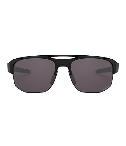 Oakley Men's Mercenary Prizm Black Wrap Sunglasses