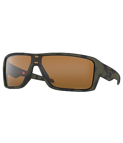 Oakley Brown Ridgeline Polarized Shield Sunglasses