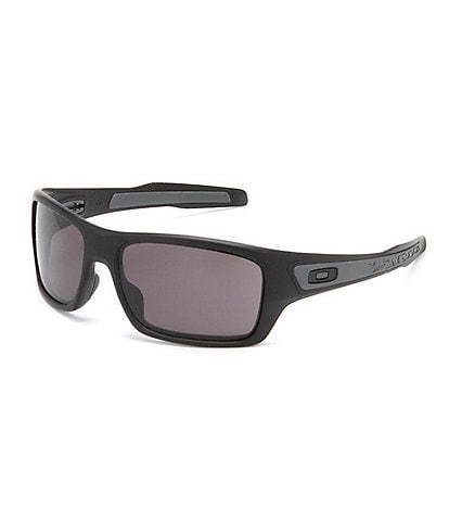 Oakley Turbine Matte Black Rectangle Sunglasses