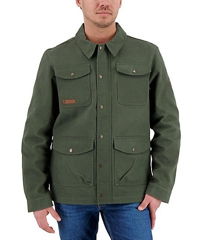 Obermeyer Oliver Waxed Cotton Flannel lined Jacket
