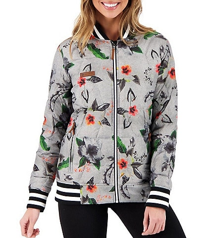 Obermeyer Paige HydroBlock® Classic Quilted Down Floral Jacket