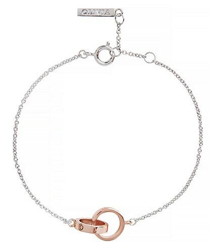 Olivia Burton Classics Interlocking Chain Bracelet