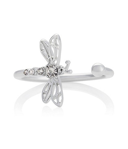 Olivia Burton Dancing Dragonfly Crystal Ring