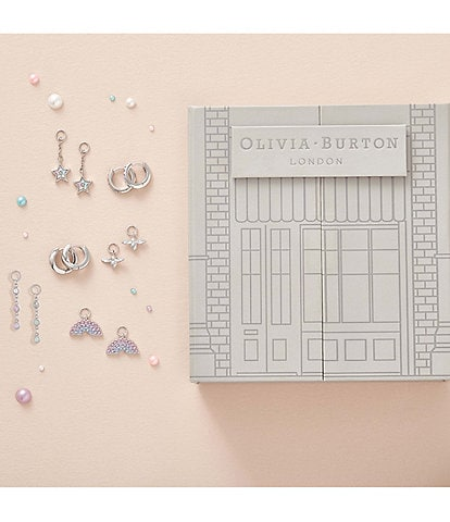 Olivia Burton House Of Huggies Rainbow Earring Gift Set