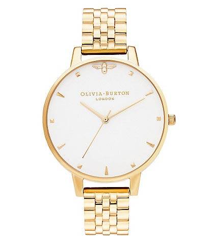 Olivia Burton Queen Bee Gold Bracelet Watch