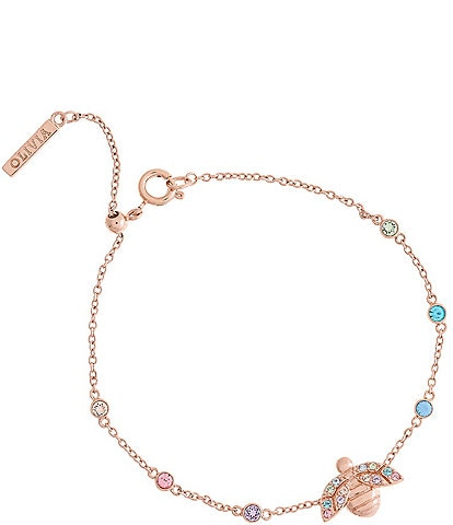 Olivia Burton Rainbow Bee Chain Line Bracelet