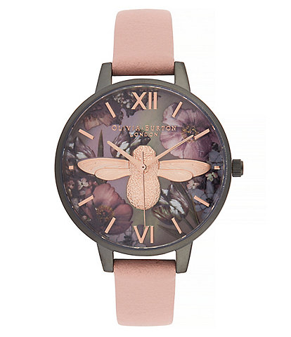 Olivia Burton Twilight Demi Dial Watch with Lilac Mother-Of-Pearl Watch