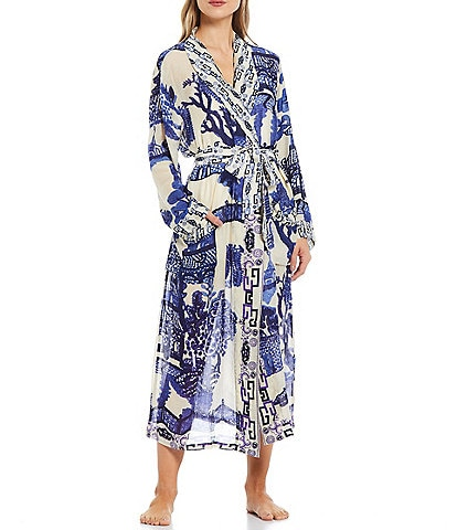 One Hundred Stars Giant Willow Woven Wrap Robe