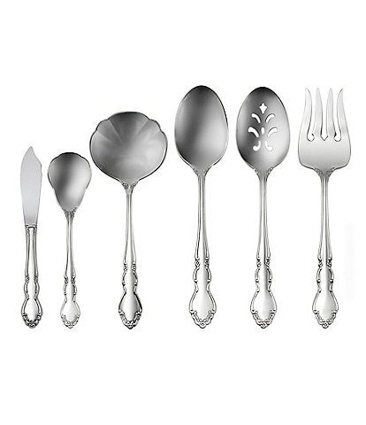 Oneida Dover Floral Stainless Steel Flatware