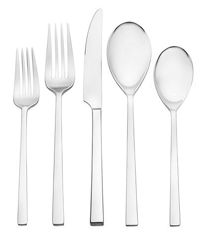 Oneida Dupree Stainless Steel 45-Piece Casual Flatware Set
