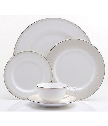 Oneida Juilliard Vintage Lace 20-Piece Bone China Dinnerware Set
