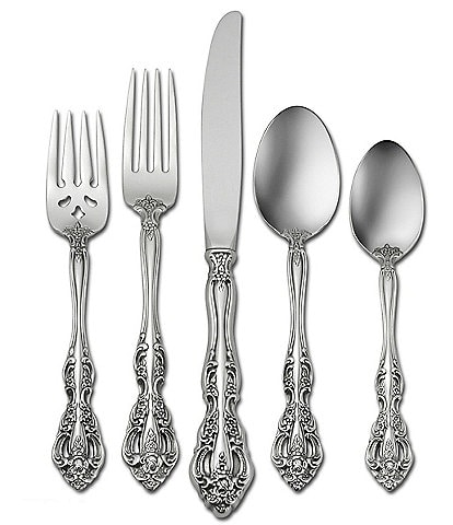 Oneida Michelangelo Traditional 45-Piece Stainless Steel Flatware Set