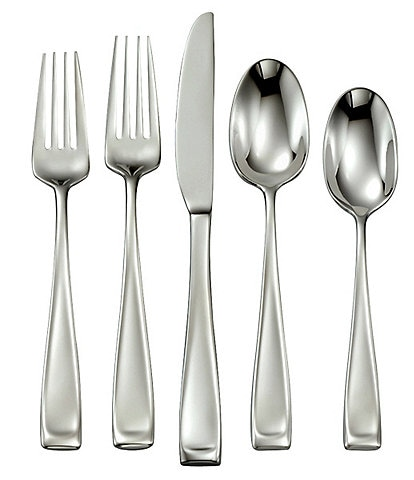 Oneida Moda 65-Piece Stainless Steel Flatware Set