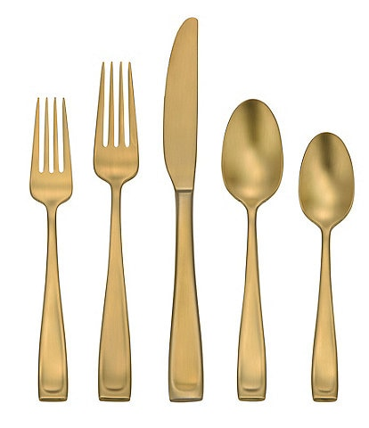 Oneida Moda Lux 45-Piece Stainless Steel Flatware Set