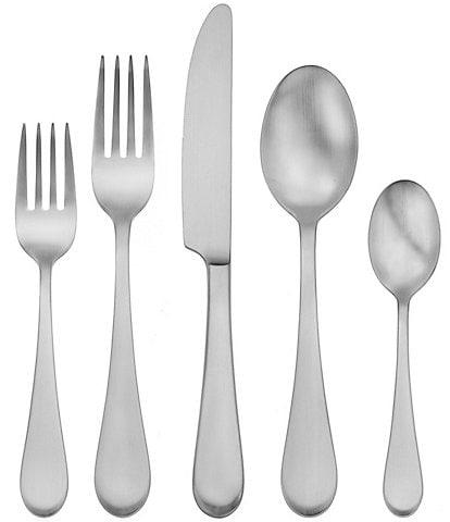 Oneida Satin Icarus 45-Piece Stainless Steel Flatware Set