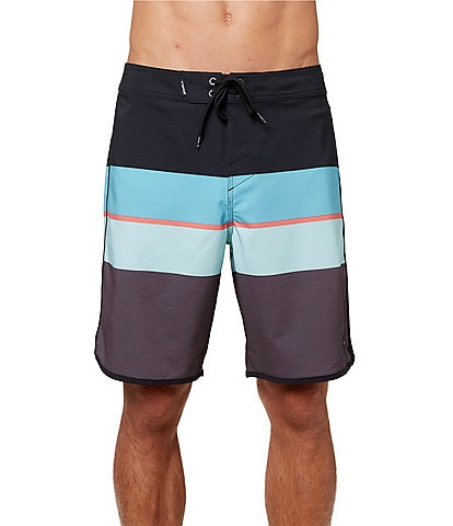 O'Neill 4-Way Stretch Square 19#double; Outseam Board Shorts