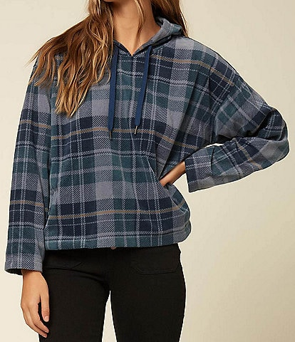 O'Neill Hampton Plaid Super Fleece Pullover Hoodie