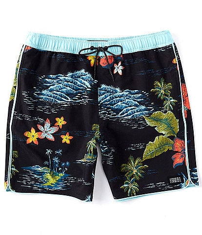 O'Neill Hyperfreak Exchange 17#double; Outseam Swim Volley Shorts