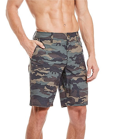 O'Neill Locked Camo Slub 20#double; Outseam Hybrid Shorts