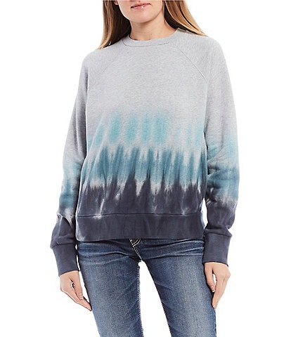 O'Neill Long-Sleeve Mavericks Dip-Dyed Pullover Sweatshirt