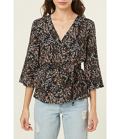 O'Neill Martha Floral Wrap Top
