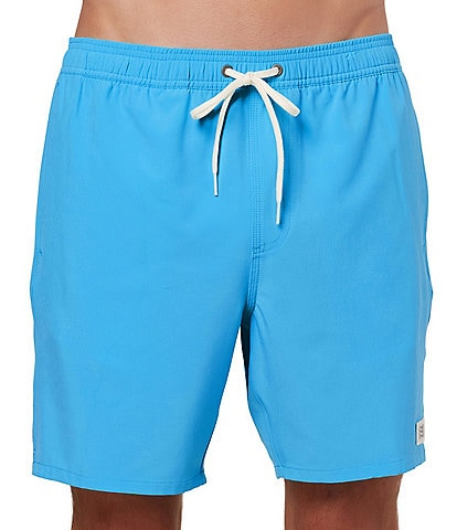 O'Neill Solid Volley 17#double; Outseam Swim Trunks