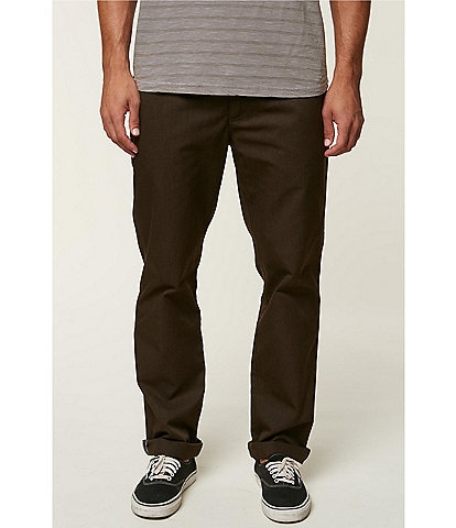 O'Neill The Standard Fit Flat-Front Chino Pants