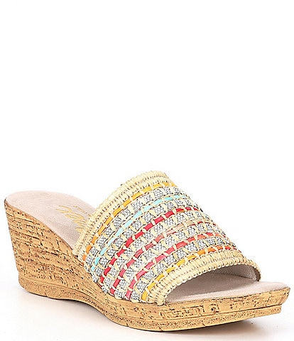 Onex Polly Wedge Sandals