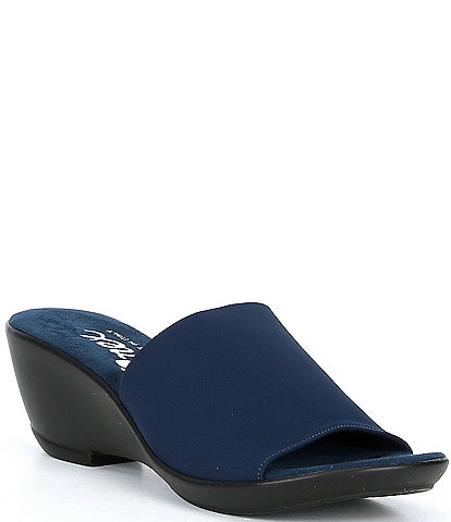 Onex Rory Stretch Wedge Sandals