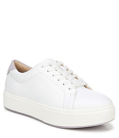 Original Collection by Dr. Scholl's Abbot Laced Leather Flatform Sneakers