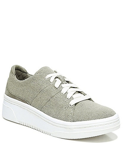 Original Collection by Dr. Scholl's Everyday Canvas Lace-Up Platform Sneakers