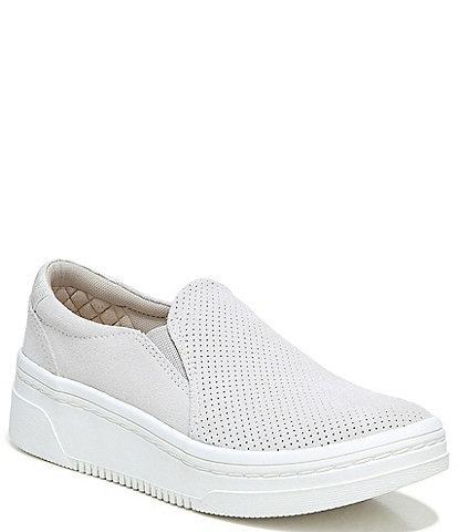 Original Collection by Dr. Scholl's Everywhere Suede Slip-On Platform Sneakers