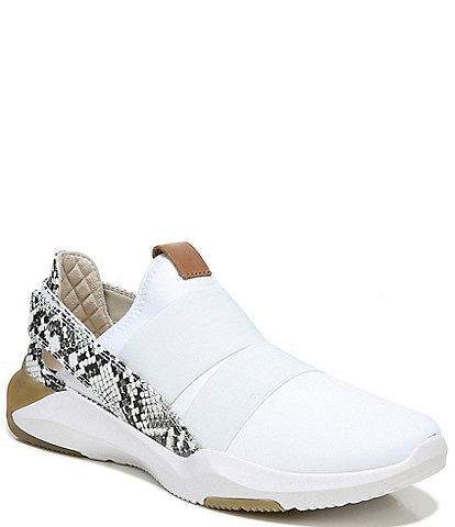 Original Collection by Dr. Scholl's Hyped Up Snake Print Accent Leather Slip-On Sneakers