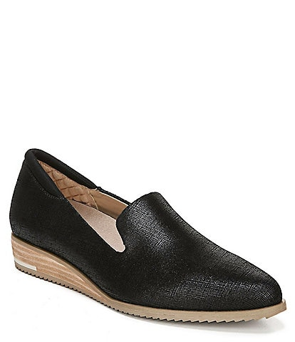 Original Collection by Dr. Scholl's Kewl Leather Wedge Loafer