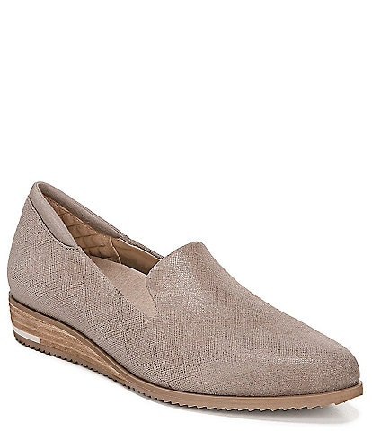 Original Collection by Dr. Scholl's Kewl Leather Wedge Loafers