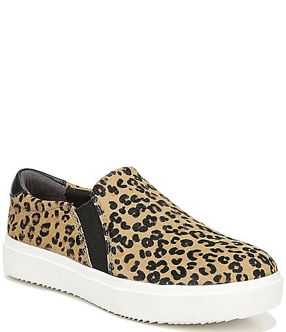Original Collection by Dr. Scholl's Leta Leopard Print Calf Hair Slip Ons