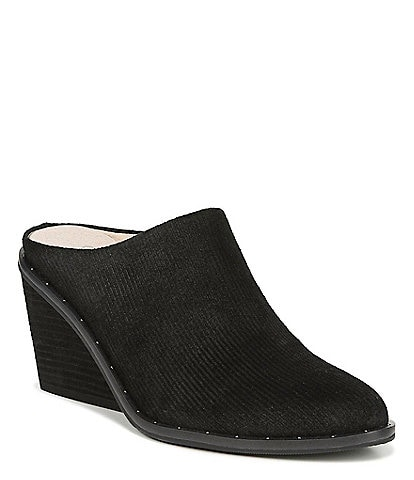Original Collection by Dr. Scholl's Maxwell Suede Wedge Mules