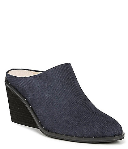 Original Collection by Dr. Scholl's Maxwell Suede Wedge Mule