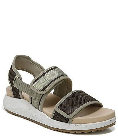 Original Collection by Dr. Scholl's Retreat Knit Sport Wedge Sandals