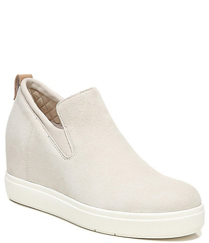 Original Collection by Dr. Scholl's Scarlette Hidden Wedge Suede Slip-On Sneakers