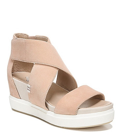 Original Collection by Dr. Scholl's Scout Suede High Wedge Sandals