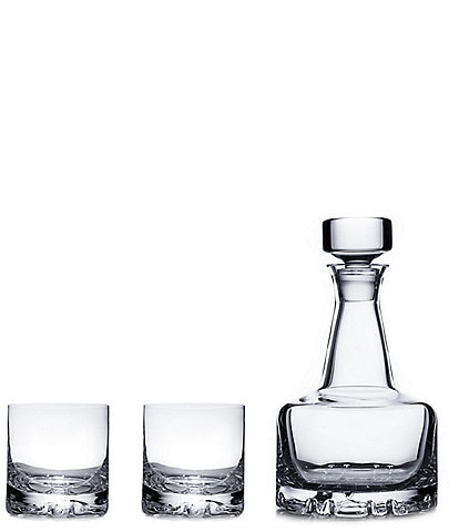 Orrefors 3-Piece Set Erik Decanter Set