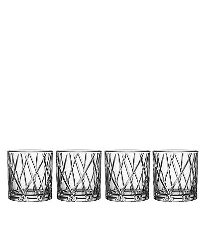Orrefors City Doble Old Fashioned, Set of 4