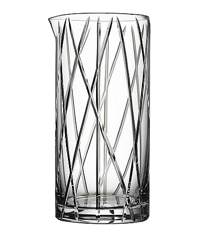 Orrefors City Mixing Glass With Bar Spoon