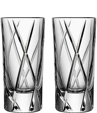 Orrefors City Shot Glass, Set of 2