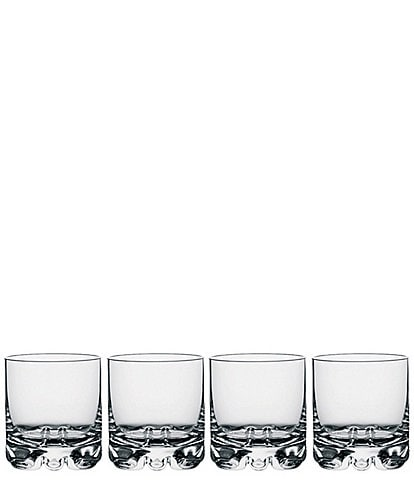 Orrefors Erik 12 ounce Double Old Fashioned Glass, Set of 4