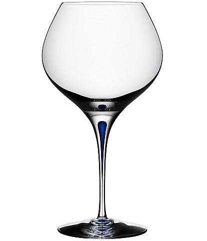 Orrefors Intermezzo Blue Bouquet Glass